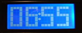LCD alarm clock photo1