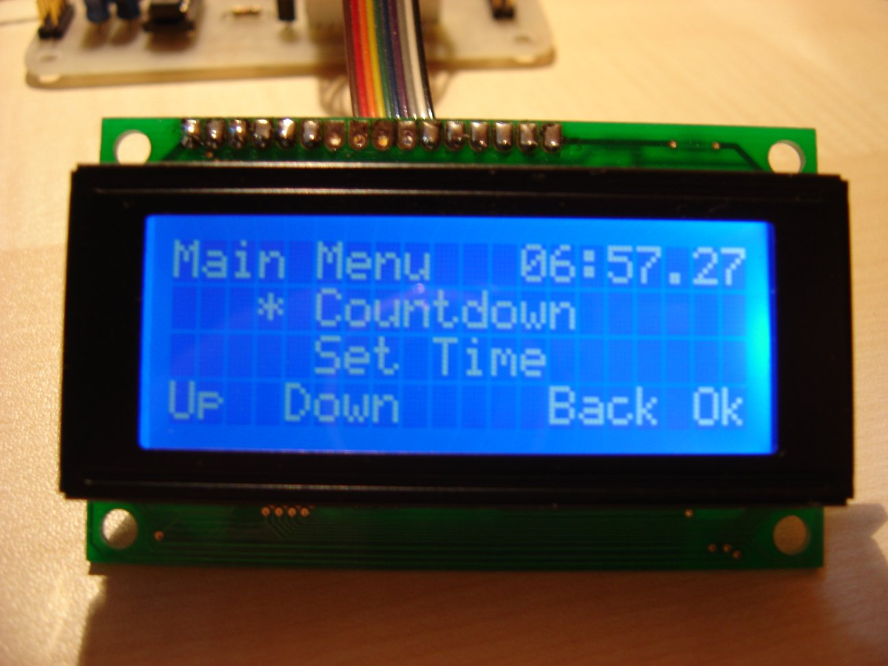 LCD alarmclock photo3