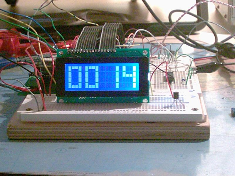 LCD alarmclock photo4