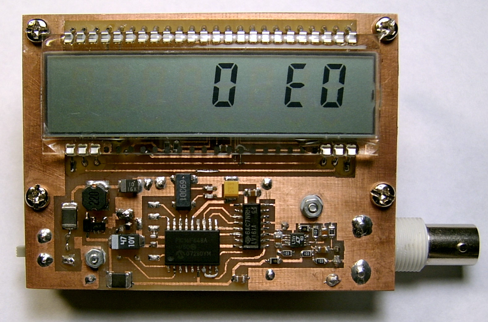 RF freq counter photo2